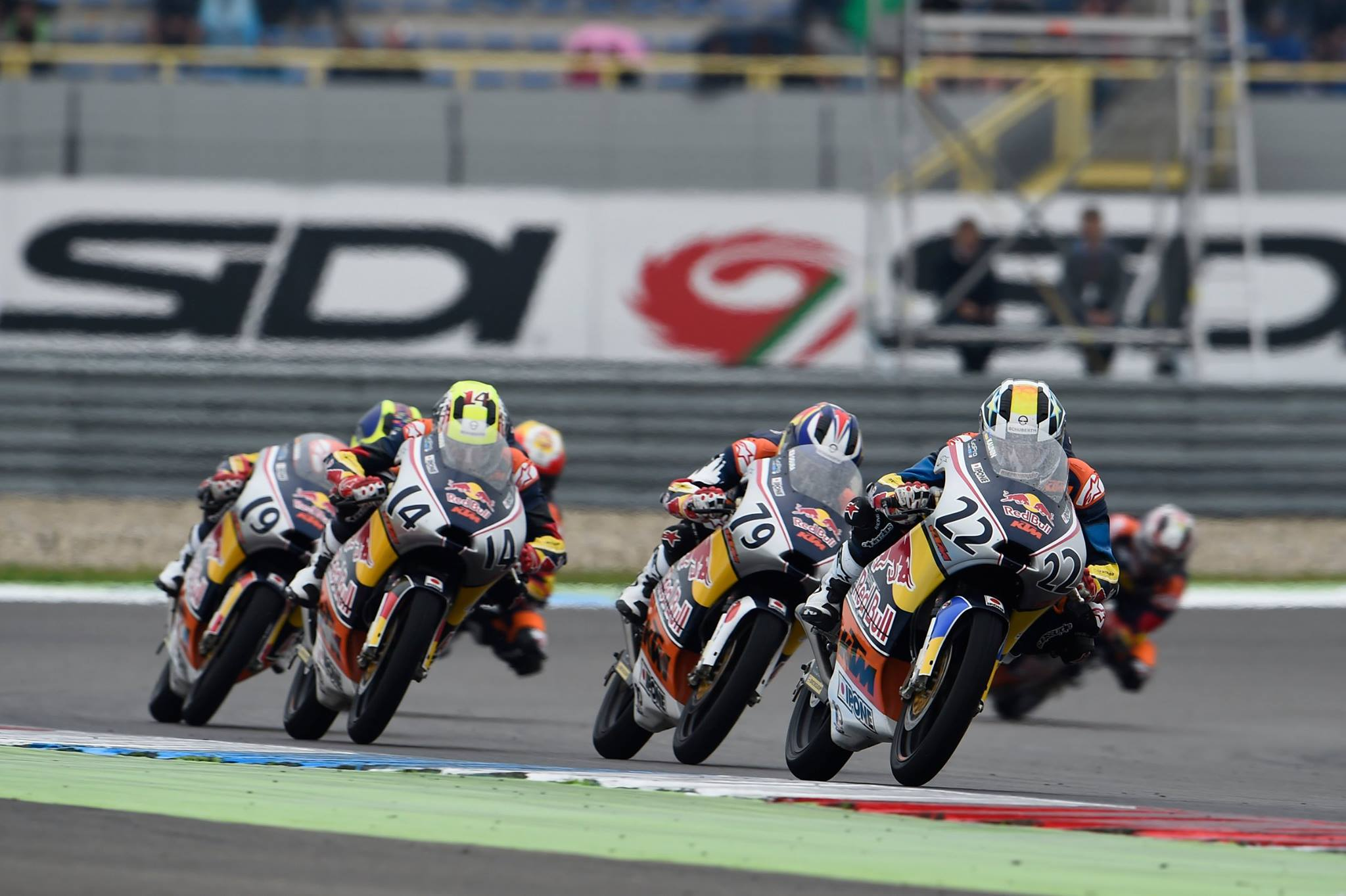 KALININ FINISHED 8TH IN THE RACE OF JUNIOR MOTOGP IN ASSEN