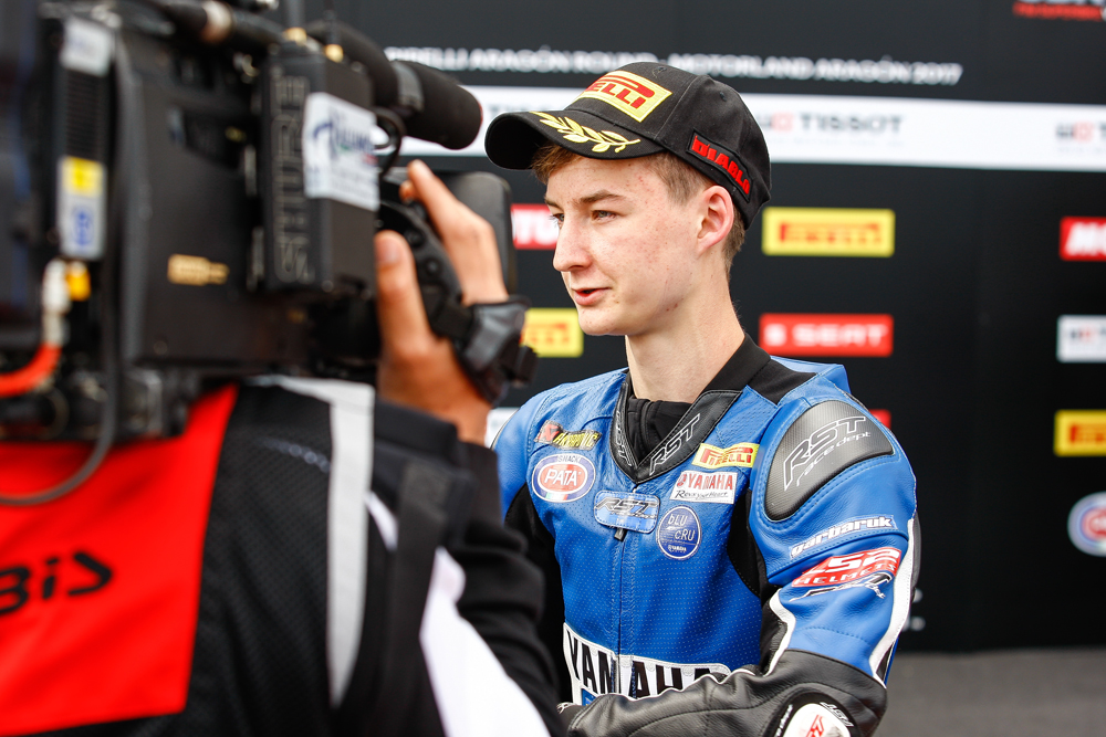 KALININ WAS THIRD IN HIS DEBUT QUALIFYING OF WORLD SSP300 CHAMPIONSHP