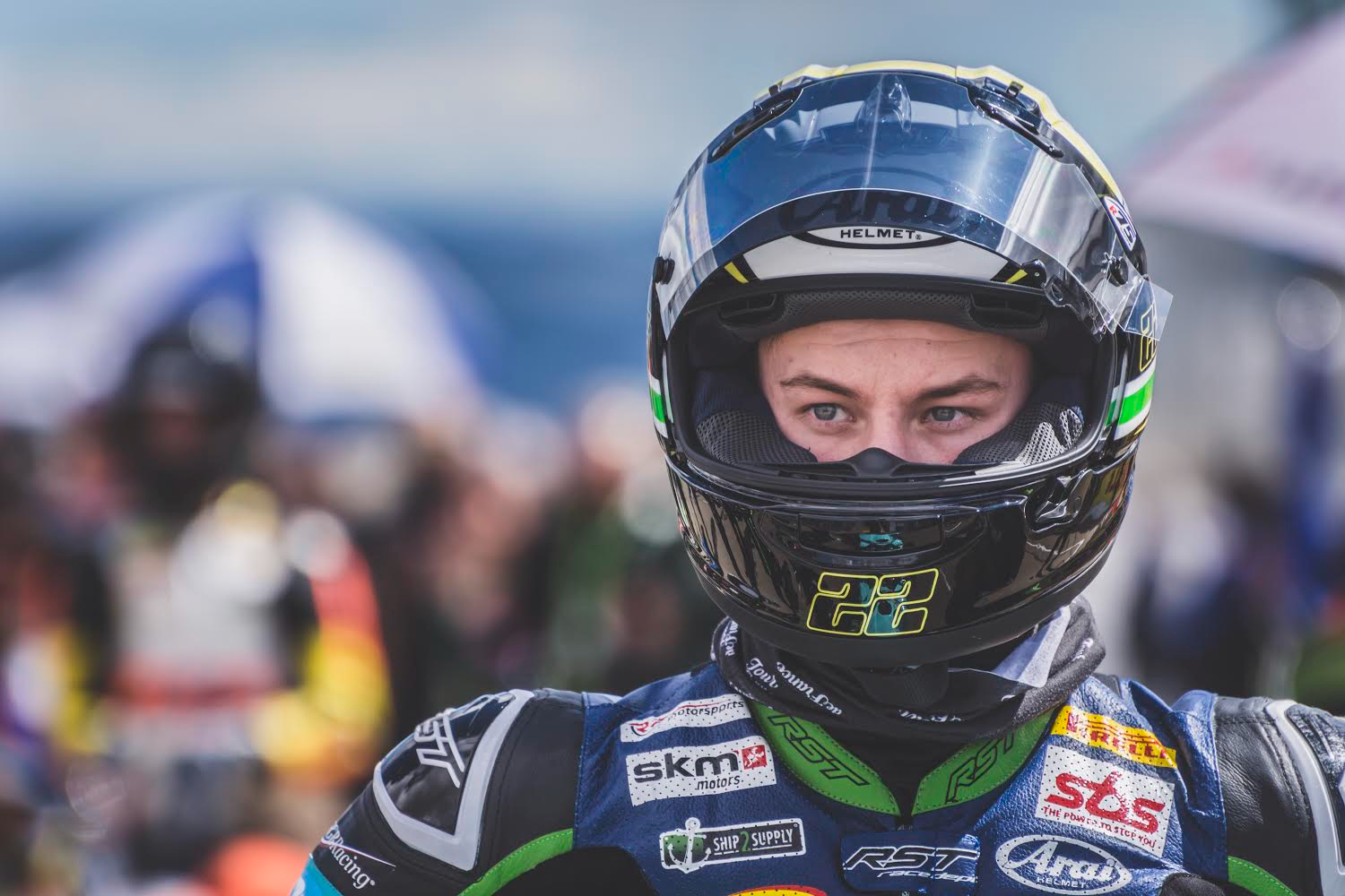 Nick Kalinin started fight for world championship title 2019 in Aragon