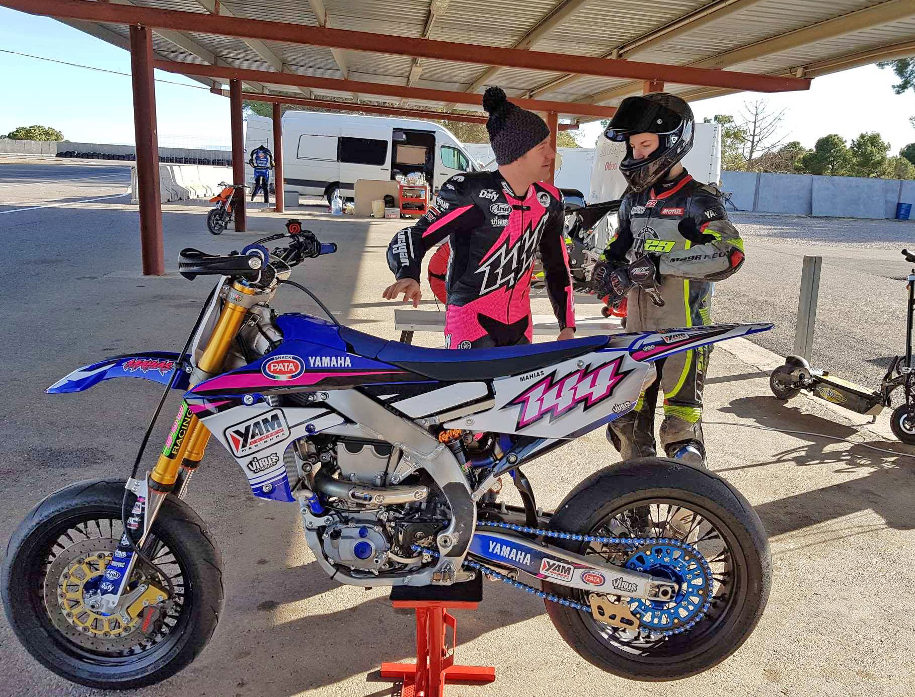 PRE-SEASON TRAINING IN SPAIN FOR THE 2018 WORLD SUPERSPORT 300 CHAMPIONSHIP